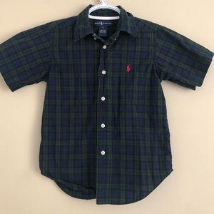 Boys Polo shirt sleeve dress shirt